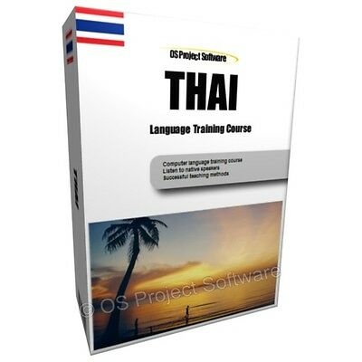 Learn To Speak Thai Language Training Course Pc Dvd New