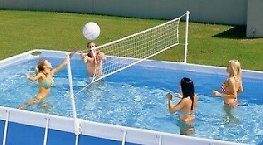 Volleyball Set for Oval Swimming Pools upto 12ft wide