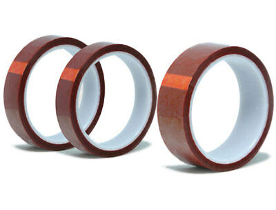 "Gold Kapton Tape Polyimide High Temp 1/2"" x 36yds 13mm"