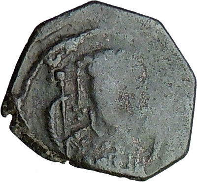 Manuel I Comnenus 1143AD Byzantine Rare Authentic Ancient Coin Monogram  i21446