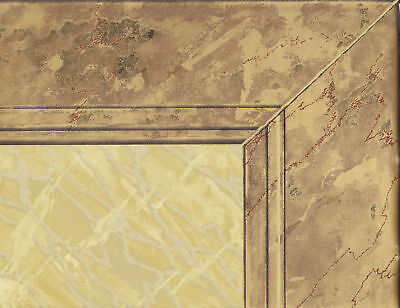 "VICTORIAN 20 1/2"" WAINSCOTING GOLD FRAME  Wallpaper bordeR Wall"