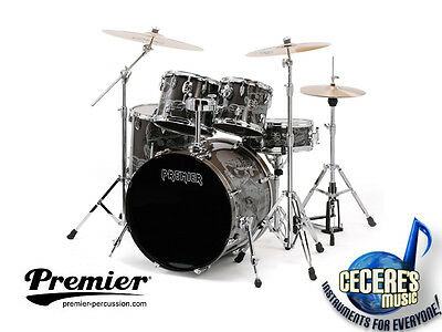 """Limited Edition """"Spirit of Maiden"""" Kit incl. hardware by Premier Drums"""