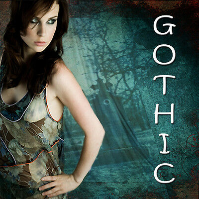 Digital Backgrounds Photography Backdrops GOTHIC Green Screen Series Images ***