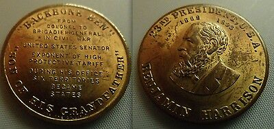 Collectable Benjamin Harrison 23rd President of the United States Token