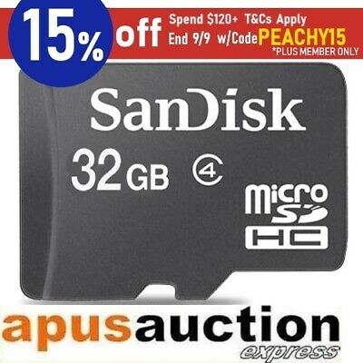Sandisk 32GB microSDHC Card micro SD SDHC 32G New Mobile Tablet Memory AU Stock