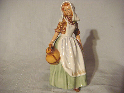 Royal Doulton Figurine The MilkMaid HN 2057  1949 Bone China made in England