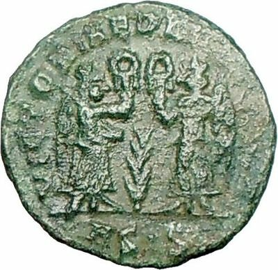 CONSTANS Constantine the Great  son 347AD  Ancient Roman Coin Victories i26386