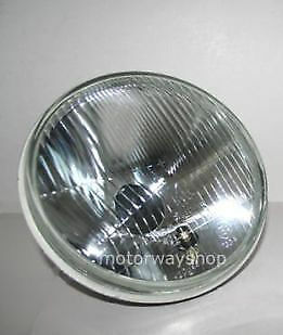 """Single 7"""" Inch Sealed Beam Headlight Halogen Conversion By Ring"""