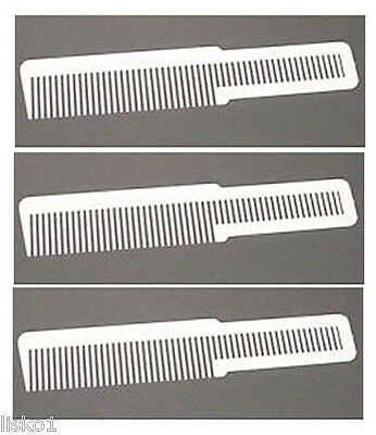 how to use a flat top comb