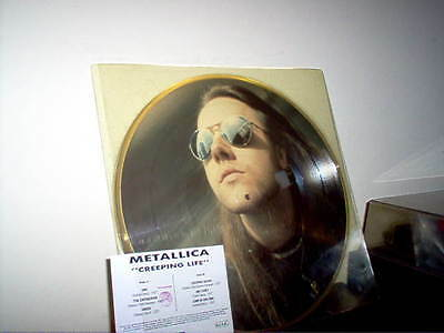 "METALLICA -LP pdk ""Creeping life"" E.C.C. Ltd. numbered edition-"
