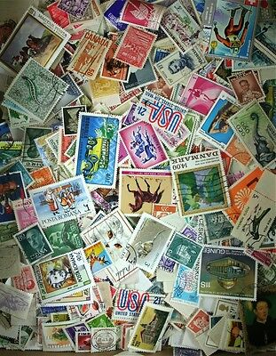 Huge WorldWide Mixture, Old & Modern Collection, 10,000 stamps, 60+ Countries