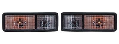 Allmakes Discovery 1 '94-'98 Clear Rear Bumper Lights Lens Set - AMR6509 & AMR65