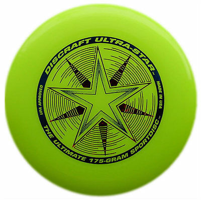 Discraft 175g Ultrastar Ultimate Flying Disc Yellow