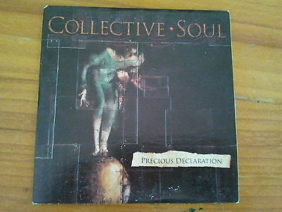 COLLECTIVE SOUL-PRECIOUS DECLARATION-Aussie 3 TK CD IN CARD SLEEVE