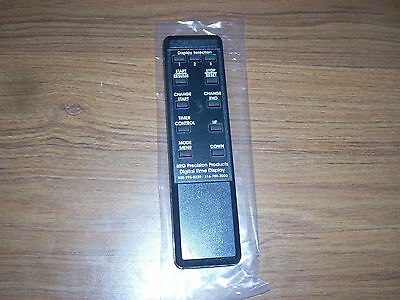 Brg Precision Products Digital Time Display Remote New