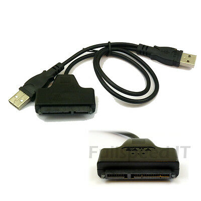 "2.5"" SATA HD / HDD to USB Cable Lead - UK Seller"