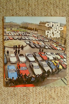 Porsche Christophorus Magazine English #163 February 1983 RARE!! Awesome L@@K