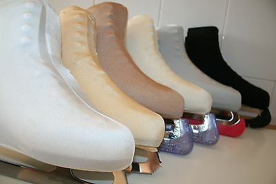 Ice Skating *roller Skate Lycra  Boot Covers Medium Size With Light Sheen