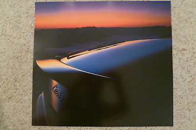 1990 Porsche 944 Turbo Coupe Showroom Advertising Poster RARE!! Awesome L@@K