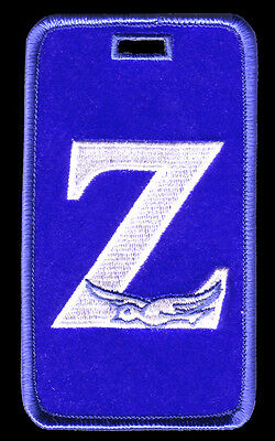 "Zeta Phi Beta ""Zeta with Dove"" Luggage Tag  L@@K AT THIS!"