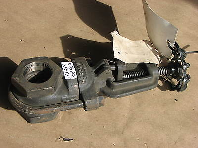 """New Walworth Iron Clip Gate Valve Fig 718 1-1/2"""" 150S 225 Cwp"""