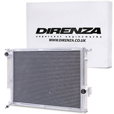 Direnza Alloy Twin Core Race Radiator Rad For Bmw 3 Series E36 3.0 3.2 M3 92-99