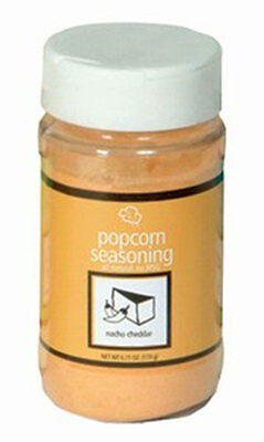 Popcorn Seasoning Nacho Cheese Flavor Paragon #6006 6.11 oz shake on