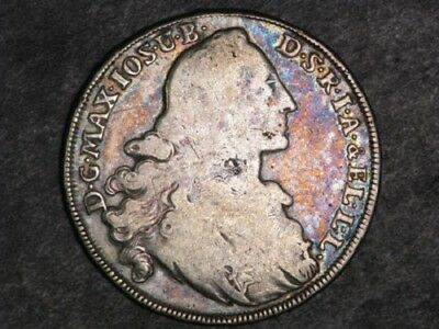 GERMANY-BAVARIA 1769A 1 Thaler Silver Crown#X211