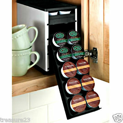Coffee Pod Drawer Holder K-cup Pods 40 K-cups Storage Organizer