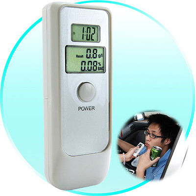 Breath Alcohol Level Tester Breathalyzer with Dual LCD Display