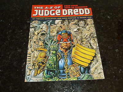 The A-Z of JUDGE DREDD SUPPLEMENT - Free with 2000 AD Prog - Year 1995