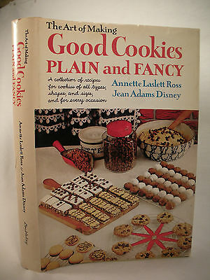 THE ART OF MAKING GOOD COOKIES PLAIN & FANCY Vintage Cookbook Specialty Recipes