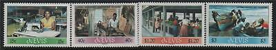 Nevis 1986 Local Industries SG 402/5 MNH