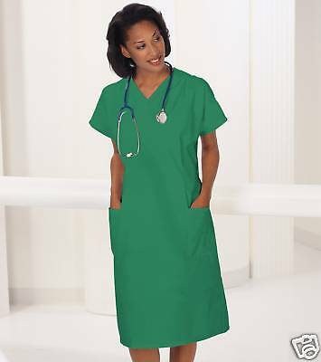One  Scrub  Dress Green Medium