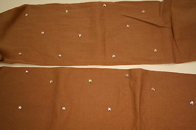 All Sizes Over The Boot Ice Skating Tights With 5Mm Ab Crystals  Tan Or Black