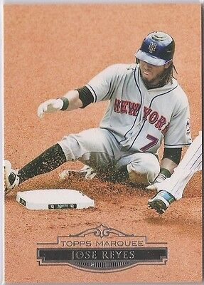 2011 Topps Marquee Jose Reyes Base #79