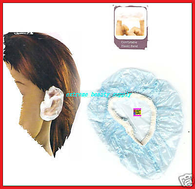 7 pair shower water ear protector cover coloring shampoo chemical treatment