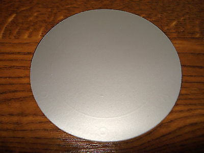 Tax Disc Holder Magnetic Silvered fits all cars bus truck