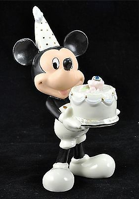 DISNEY LENOX CLASSICS MICKEY MOUSE BIRTHSTONE FIGUERINE - MARCH