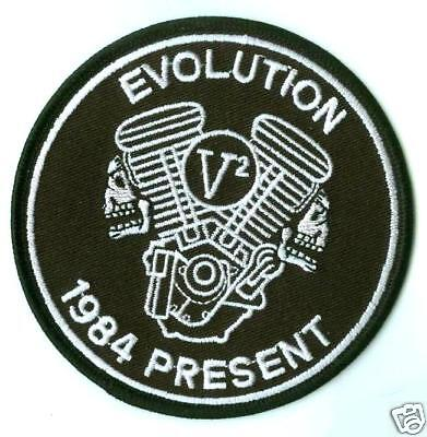 Café Racer Rockers Forever Ton-Up Norton-Boys Patch: Evolution Norton Engine
