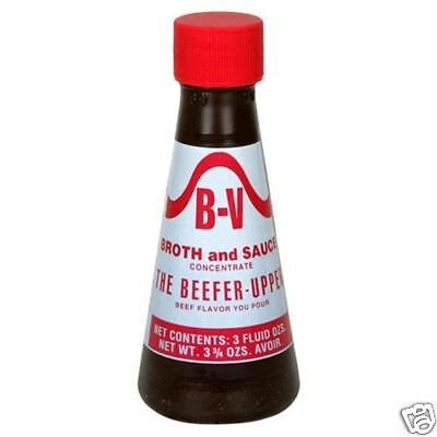 B-V Beef Extract Beefer Upper 3.75oz
