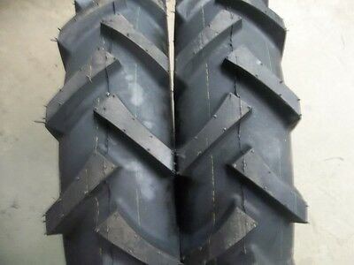 TWO 600x16,600-16 FARMALL INTERNATIONAL Climb Hills R1 Tractor Tires with Tubes