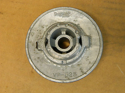 "Congress Drives 1 Groove Adjustable Width Pulley Sheave 1/2"" Bore Vp-325 New"