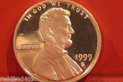 1999 S Lincoln Cent Gem Proof