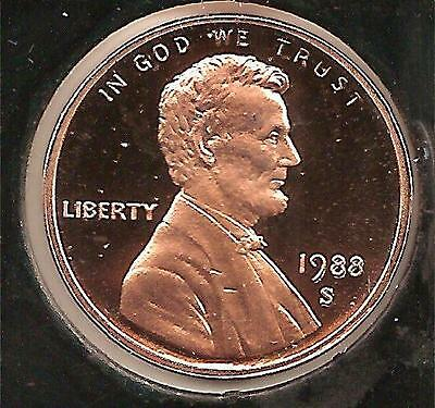 1988 S PROOF Lincoln Cent #1
