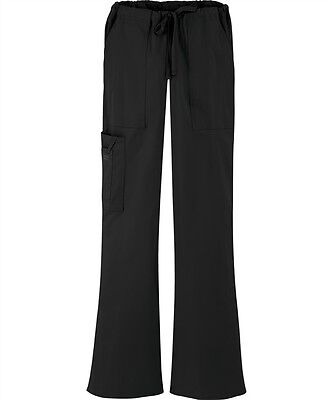 Scrubs Cherokee Workwear Core Stretch Cargo Pant 4044 Black  FREE SHIPPING!