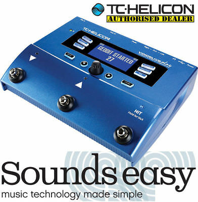 TC Helicon VOICELIVE Play - Vocal Harmony & Effects Processor for Singers (NEW)
