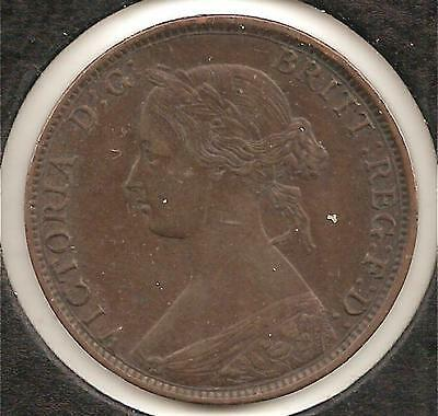 1861 XF-AU New Brunswick One Cent #1