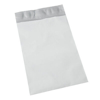 """300 ct 12x15.5 GREY PLASTIC MAILING BAGS 12"""" x 15.5"""" POLY MAILERS ENVELOPES BAGS"""