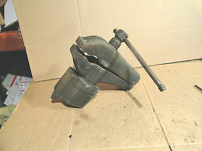 Vintage Cole 11 Bench Vise Anvil Old Blacksmith Machinist Tool NO SHIPPING